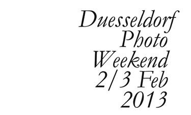Düsseldorf Photo Weekend